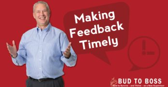 Making Feedback Timely